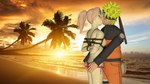 NaruSaku: Take me by the sunset by 4wearemanytoo