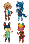 New Leaf Villagers by Southrobin