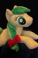 Apple Fritter Shoulderpony Beanie by Siora86