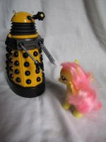 Flutter and Dalek by michaela1232001