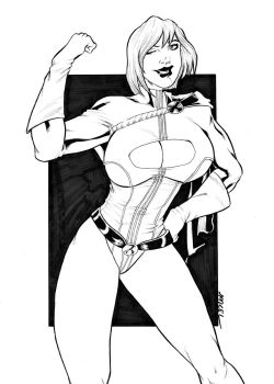Power Girl by MarcelTheSouza