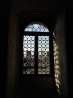 Soave Castle 08 (window in the dark) by Simbores