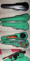 Violin case for Tommy Gun by ancestorsrelic