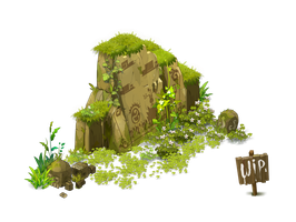 Colline / Hill - Dofus ... WIP by Weequays