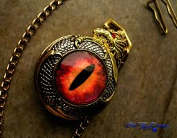 Dragon Slave Pocket Watch - Daylight Picture by LadyPirotessa