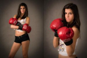 Boxing Girl - 01 by Przemo80