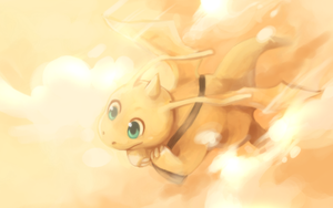 Dragonite by Middroo