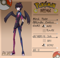 Pokemon Village .:Ryder:. by Forestii
