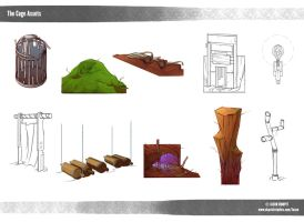 Cage Assets by jrumpff