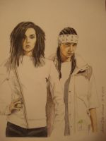 Kaulitz Twins by StarGazerSquirrel