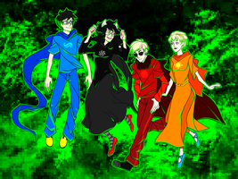 The Kids by RoughReaill