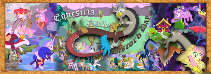 Equestria Daily Discord Day Banner by DragonM97HD