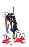 the end by XNeon-HeartX