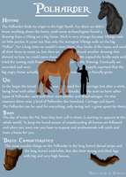 The Polharder Breed Sheet by blanjojo
