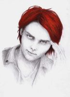 Gerard Way by MaryjeD