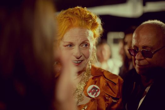 Vivienne Westwood at Backstage by hakanphotography