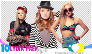 10 Lydia Paek png pack by beezep