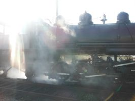 Steaming Up by TomRedlion