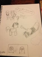 Why are they burying daddy? by BigFootJake
