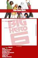 Journal Skin: Big Hero 6 - Friends by TMNT-Raph-fan
