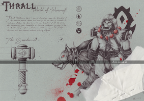 Thrall - World of Warcraft by Zellgarm