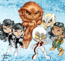 Alpha Flight by Corsariomarcio