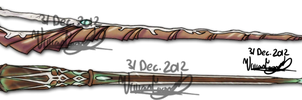 Pottermore Wand 2 by Twin-Divinity