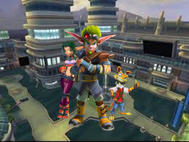 Jak 2 Keira and Daxter in Haven City by 9029561