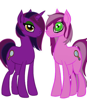 Indigo Heart and Smoky Mirrors by SupporterOfRainbows2