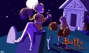 The Whedon Fan: Buffy Title Card by starlightv