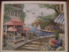 Cafe By The Sea by DebK42