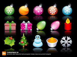 Christmas XP by deleket Iconos para Windows XP
