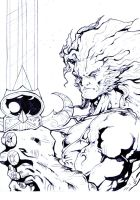 Thundercats Lion Draft by Joe-Style