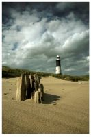 Spurn Point Lighthouse by didjerama