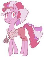Pink pony adoptable CLOSED by Loser-Derpy