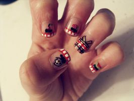 Picnic Nails by TheWorldIsLove