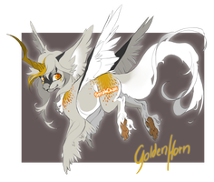 GoldenHorn - Paypal Adoptable CLOSED by SorahChan