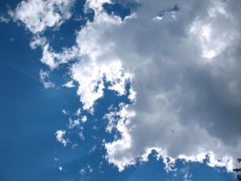 Hartford Fair 53 Clouds Sky by WDWParksGal-Stock