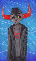 Tavros Bookmark by Mirror-Kat