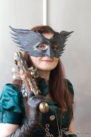 Crow mask by Artapologia