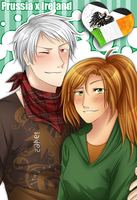 AT: Prussia x Ireland by kamillyanna