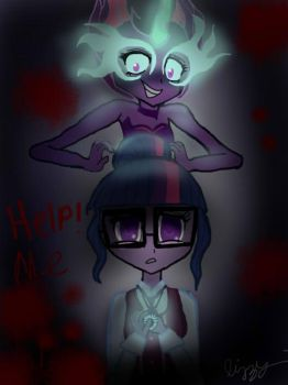 help me! 2 by infernoflame8117