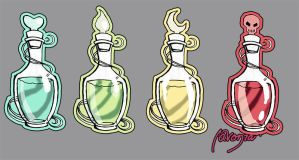 Potions Color ::Digital:: by lavonia