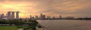 Singapore panorama by les-legend