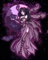 Dark Faerie - TatteredDreams by violent-ecstacy