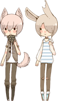 CLOSED AUCTION: MOAR BBS TO LOVE 150-151 by Tochi-Adopts