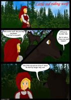 Little Red Riding Wolf. Page 1 by Star--Shard