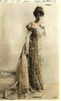 vintage lady in costume XXX by MementoMori-stock