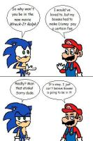 Sonic and Mario discuss Wreck-It Ralph by RocketSonic