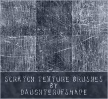 Scratch Texture Brushes by phamexpress12